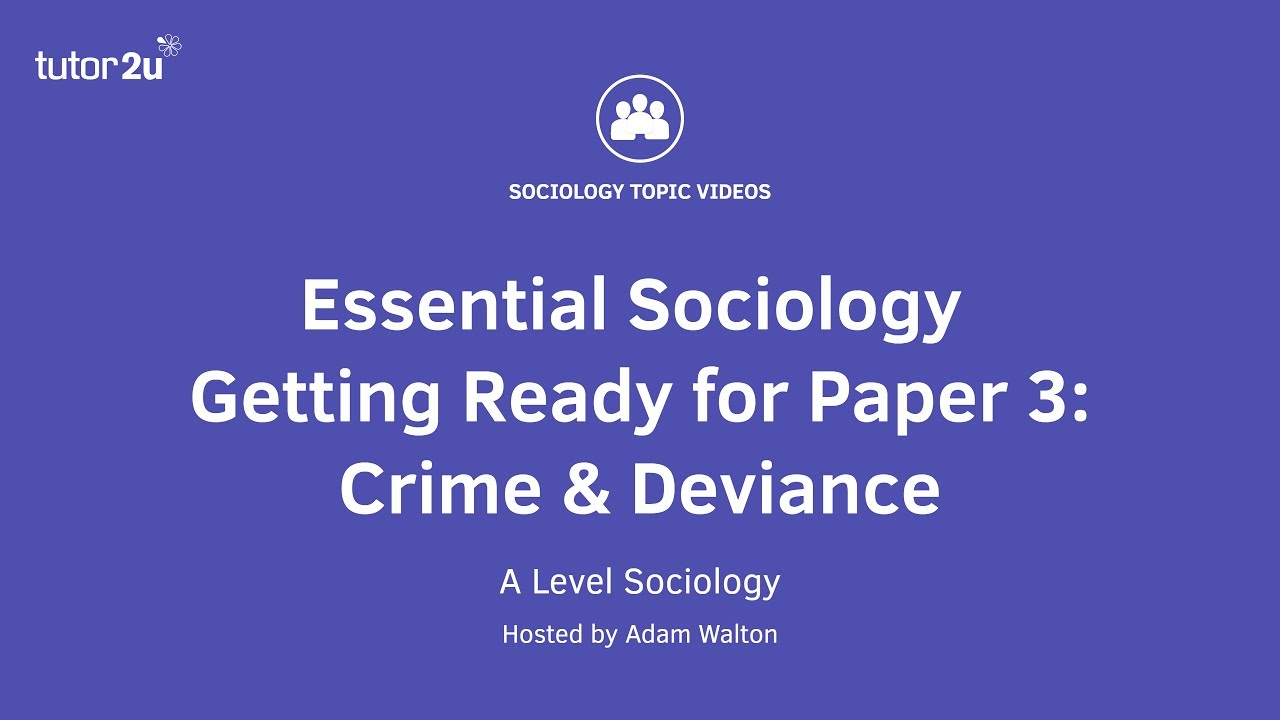 sociology revision essay Open document below is an essay on sociology unit 1 revision guide from anti essays, your source for research papers, essays, and term paper examples.