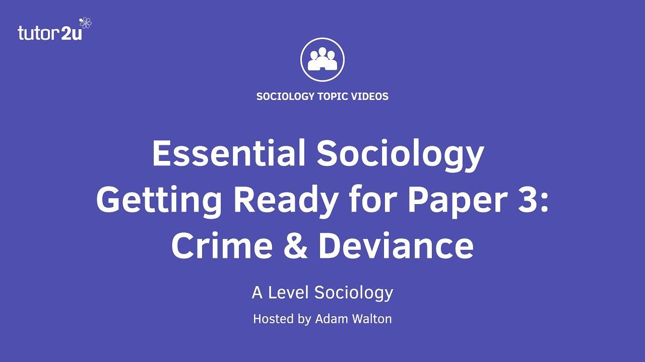 sociology essay topics