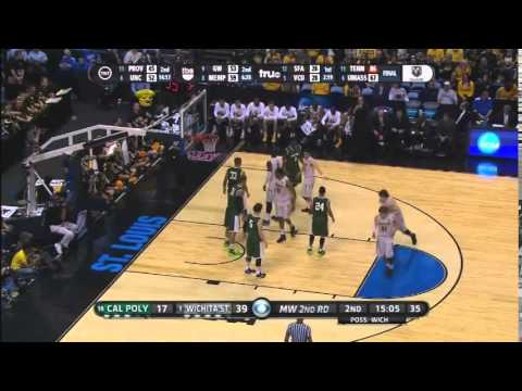 Gregg Marshall - Offensive Actions - Wichita State vs Cal Poly