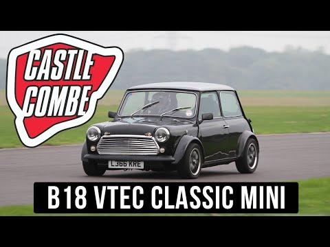 B18 VTEC mini @ Castle Combe mini action day 2016 - 4K