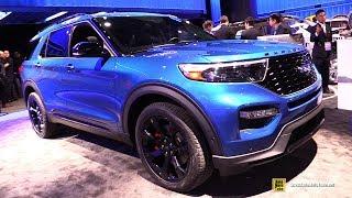 2020 Ford Explorer ST - Exterior and Interior Walkaround - 2019 Detroit Auto Show