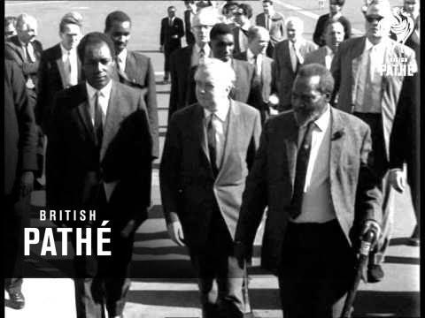 Harold Wilson Visits Kenya (1966)