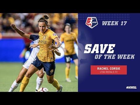 Week 17 Save of the Week | Rachel Corsie, Utah Royals FC | NWSL 2018