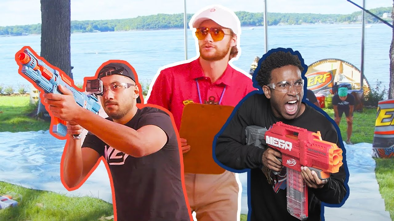 NERF Team gets a Coach 🏅 | EP 17 | Nerf House Showdown | Full Episodes | Nerf Wars