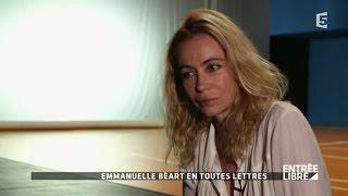 Emmanuelle Béart: Son portrait en toutes lettres - Entrée libre