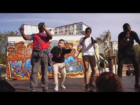 Marseille, quartiers Nord: le rap d'une jeunesse oubliée #Pas2Quartier