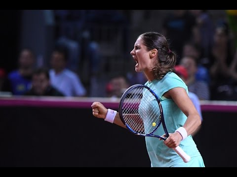Highlights: Monica Niculescu (ROU) v Andrea Petkovic (GER)