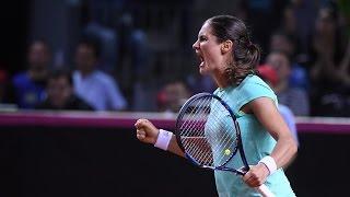 Highlights: Monica Niculescu (ROU) v Andrea Petkovic (GER)