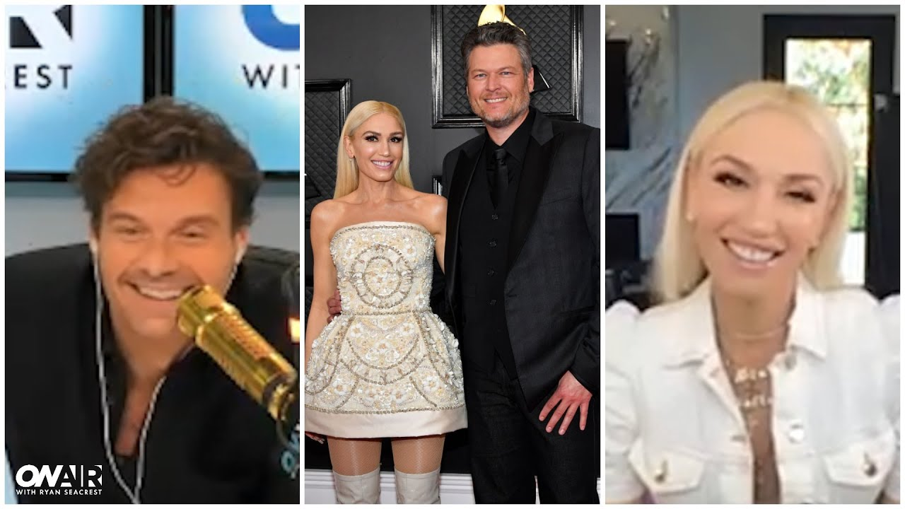 Gwen Stefani Shares an Update on Wedding Plans With Blake Shelton | On Air With Ryan Seacrest