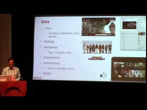 Justin Basilico, Senior Researcher Engineer in Recommendation Systems, Netlix @ MLconf ATL