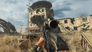 Amazing Sniper Gameplay in FPS Game about Apocalypse Metro Exodus