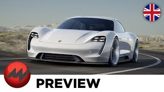 Porsche Mission E - This Electric Car Is A True Sports Car!