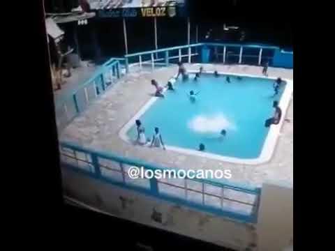 Adolescente ahoga a una joven en una piscina en Palmarejo, Villa Linda