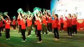Thể dục đồng diễn LK Khát Vọng Tuổi Trẻ - Trường THPT Ngô Sĩ Liên.