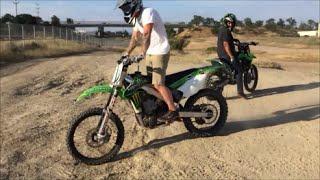MUD FUN with ATV'S and KX450F DIRT BIKES