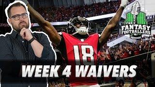 Fantasy Football 2018 - Week 4 Waivers & QB Streamers, Fitzmagic - Ep. #614