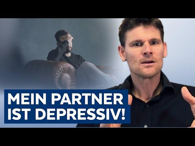 Beziehung mit depressivem Partner - Was kann ich tun?