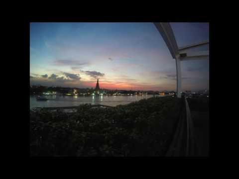 wat arun slowmotion sunset