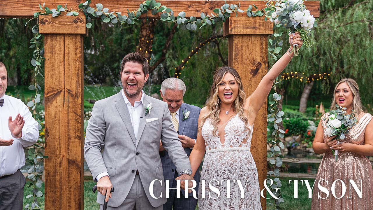 The Wedding of Christy and Tyson - The most beautiful love story!