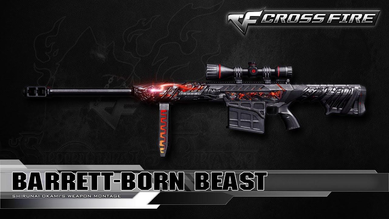 3Z vip- M82A1 S Born Beast IN zombie v4