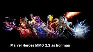 MarvelGame MMO Game as Ironman Part1