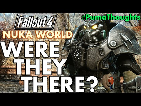 Fallout 4: Were the Enclave at Nuka World? Theory #PumaTheories