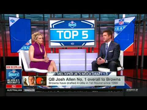 Todd McShay On QB Baker Mayfield No. 3 Overall To Redskins