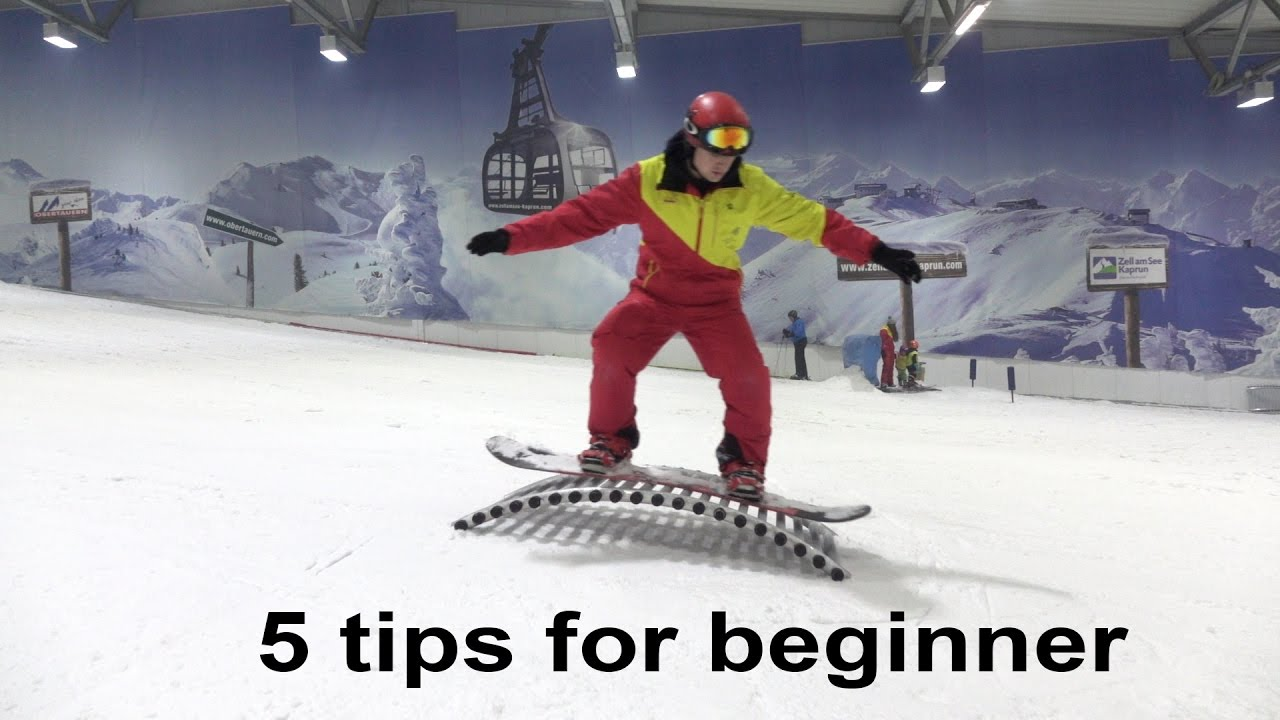 74eec990de17 5 things I tell all my snowboard beginners - YouTube
