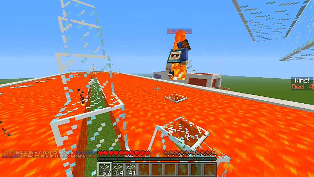 how to get lava without bucket minecraft