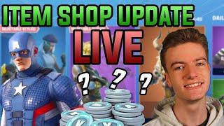 Item Shop Update LIVE Countdown! Captain America TONIGHT! 2nd July 2020   Fortnite Battle Royale
