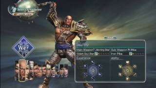 "Dynasty Warriors 6: Strikeforce  - Xbox 360 ""Character Selection"""