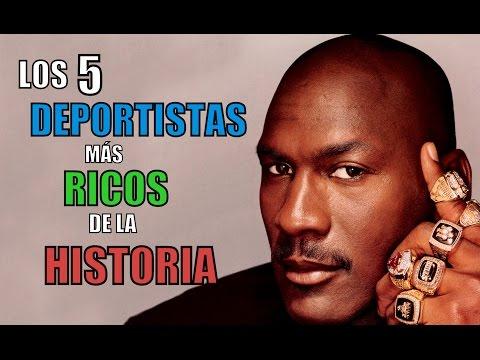 LOS 5 DEPORTISTAS MÁS RICOS DE LA HISTORIA