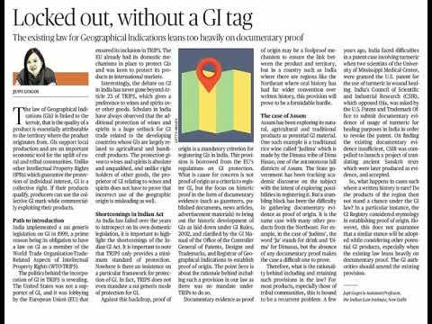 27th November 2017 The Hindu News Analysis