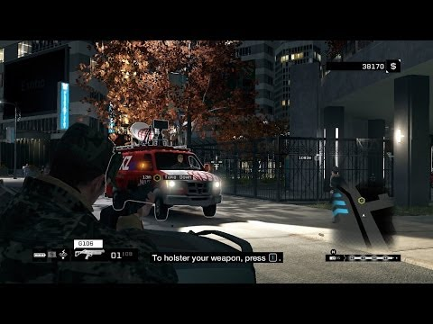 In Plain Sight walkthrough - How to escape the Police - Watch Dogs