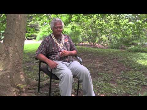 Johnny Rudolph tells a Nukuoro creation story in Nukuoro