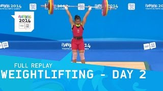 Weightlifting - Thailand claim gold | Full Replay | Nanjing 2014 Youth Olympic Games