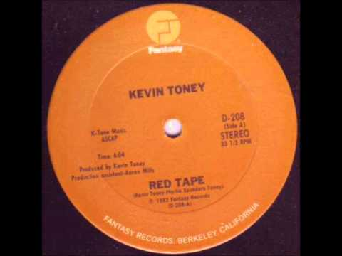 KEVIN TONEY   Red Tape   FANTASY RECORDS   1982