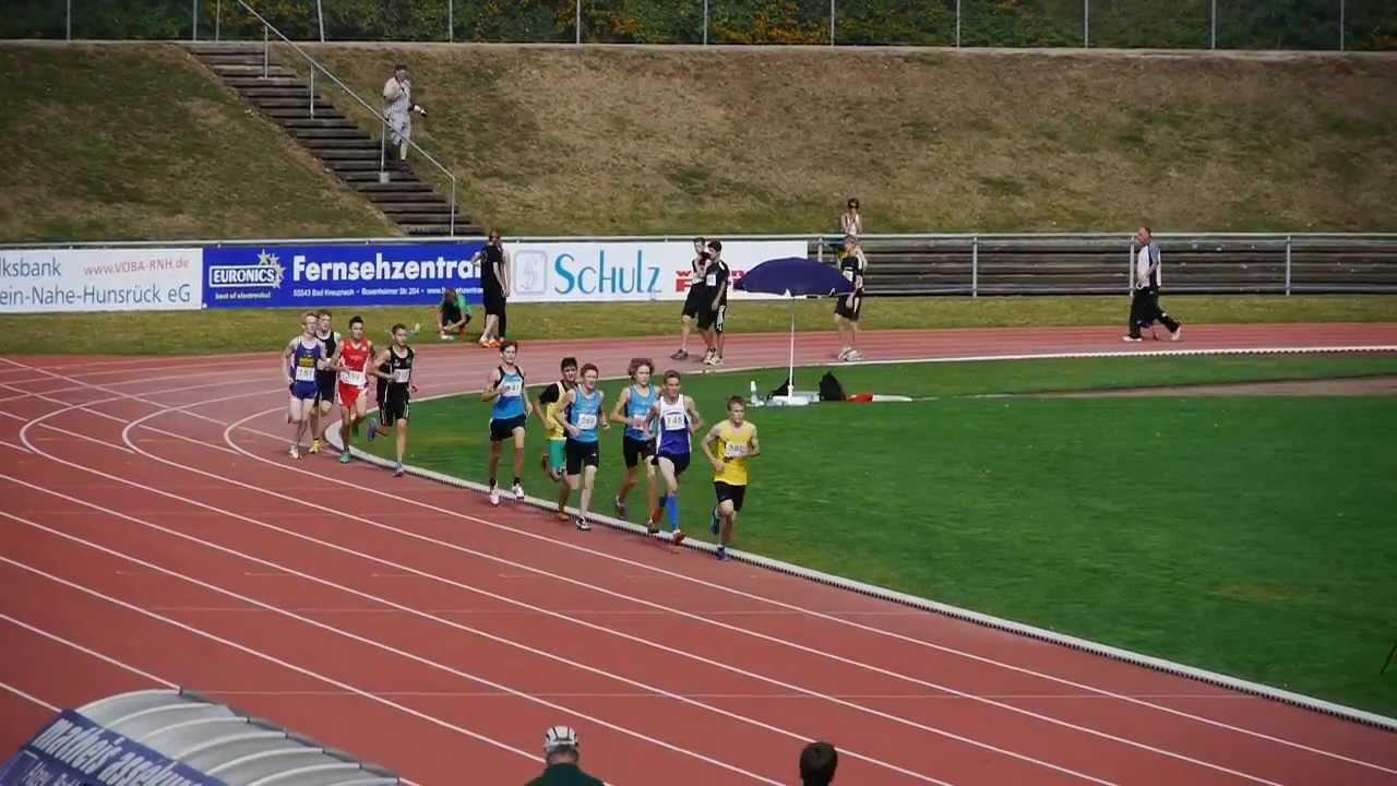 Westdeutsche Meisterschaften 2012 M15 3000 M Youtube
