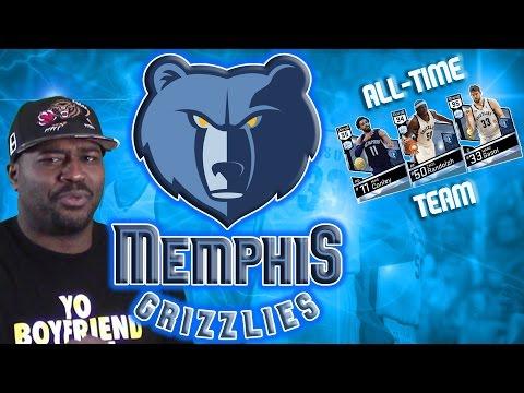 All-Time Memphis Grizzlies - Diamond Conley, Gasol, Z-Bo- #GrindCity  - NBA 2K17 MyTeam Gameplay