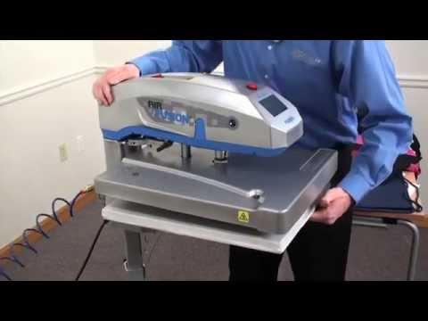 Presse à Thermofixer Vetilabel VP3 Air Fusion