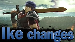 Smash Ultimate: Ike changes - Patch 8.0.0