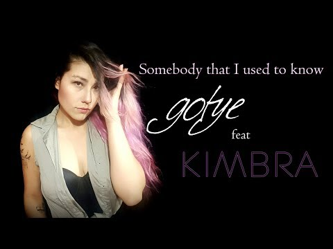 Somebody That I Used To Know (Gotye Ft. Kimbra) - Acoustic Cover By Esthibaliz Rojas