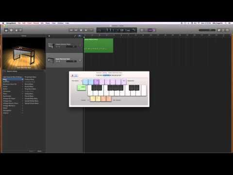 Garageband 10-Musical Typing for Beginners