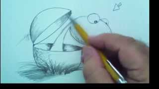How To Draw a Dino-Baby Hatchling with Mark Kistler
