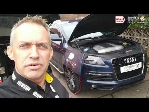Engine Carbon Clean on an Audi Q7 3.0 TDI (2007 - 140,505 miles).