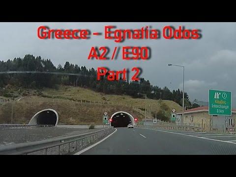 A2/Egnatia Odos to Igoumenitsa Greece (part 2) 2x Speed