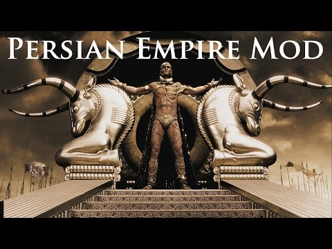 Play as the Persian Empire in Wrath of Sparta!