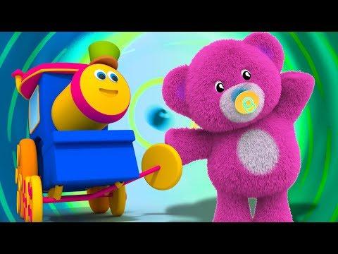 Bob der Zug   Teddybären drehen sich   Deutsch Kinderlied   Bob Train Song   Teddy Bears Rhyme