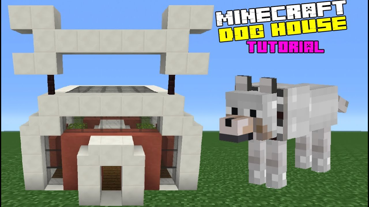 Minecraft Tutorial  How To Make A Dog House