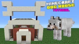 Minecraft Tutorial: How To Make A Dog House